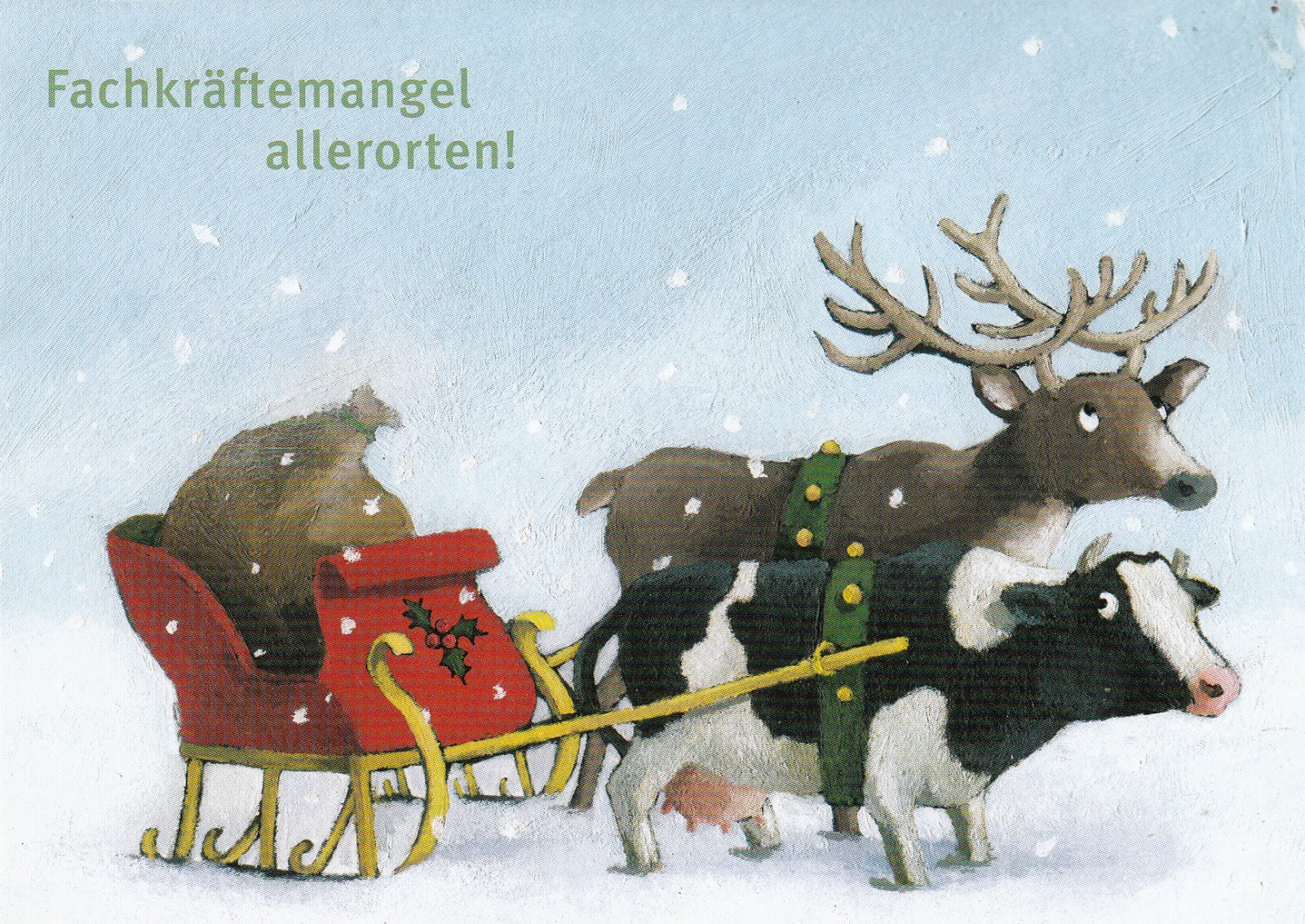 My postcard and stamp week: Germany: Christmas Cards