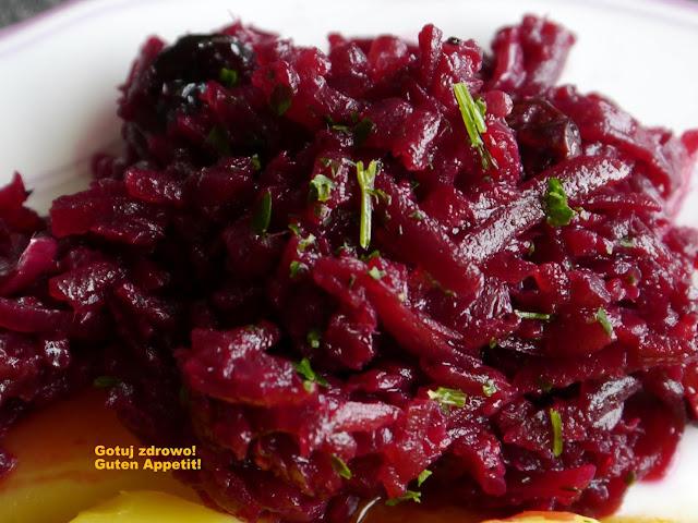 Sałatka obiadowa z buraczków, czerwonej cebuli i imbiru   - Czytaj więcej »