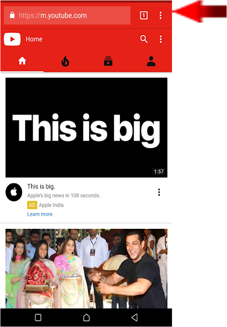 How To play Youtube Video In Background Without Any App