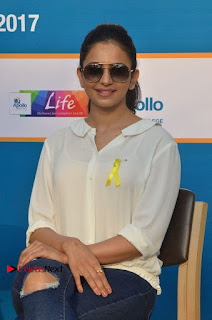 Actress Rakul Preet Singh at Endometriosis Awareness Walk at Apollo Cradle  0066.jpg