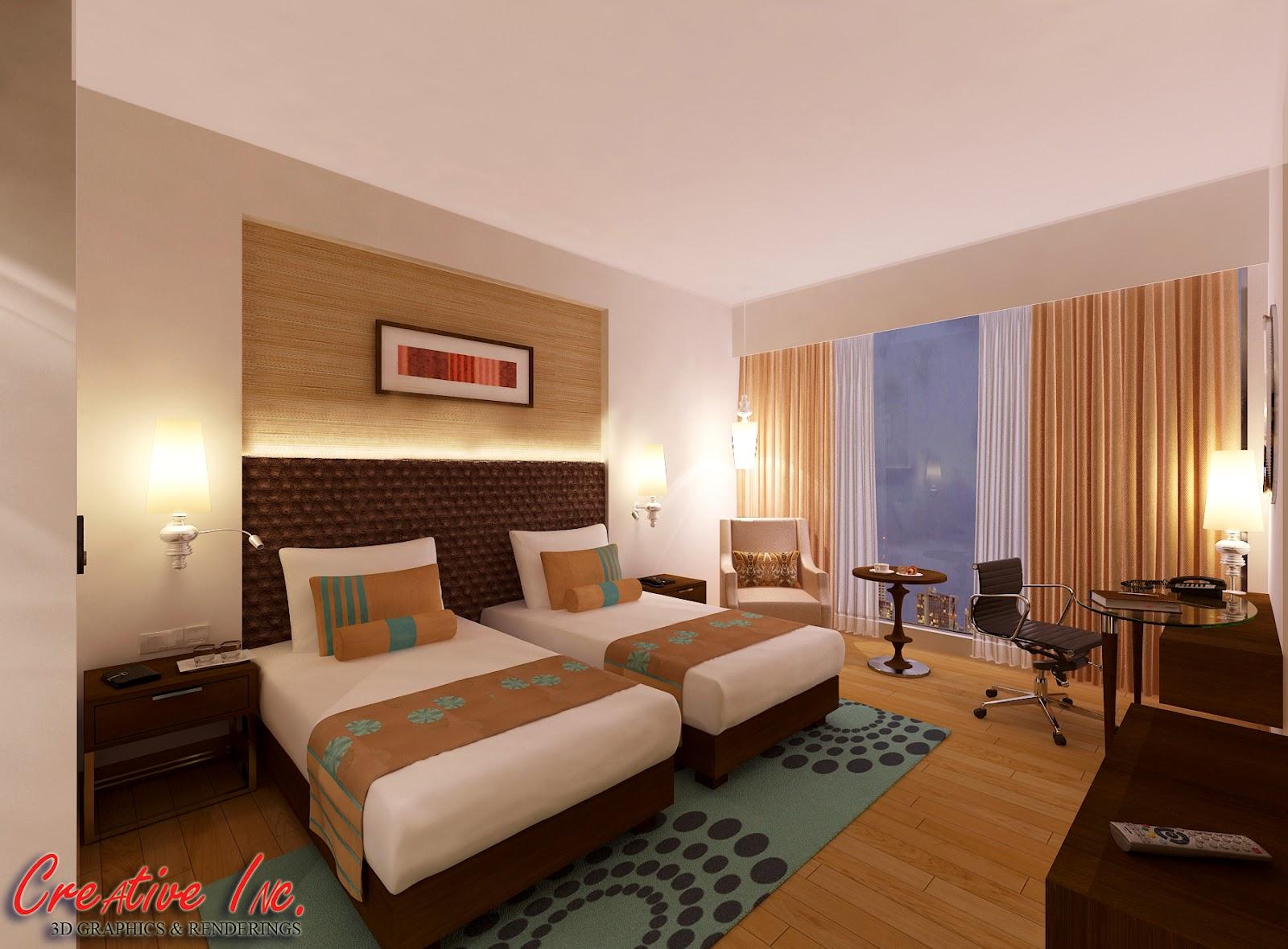 Creative Inc 3D: Hotel Room Designs