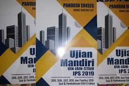 Soal Ujian MANDIRI UIN, IAIN, STAIN 2019 Terbaru
