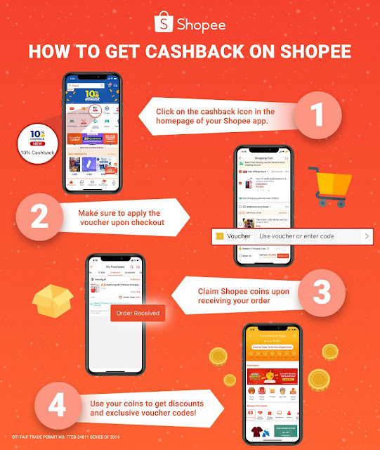 Shopee New Year Cashback Sale