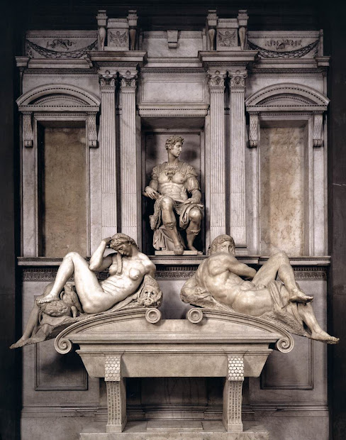 Medici Tombs by Michelangelo