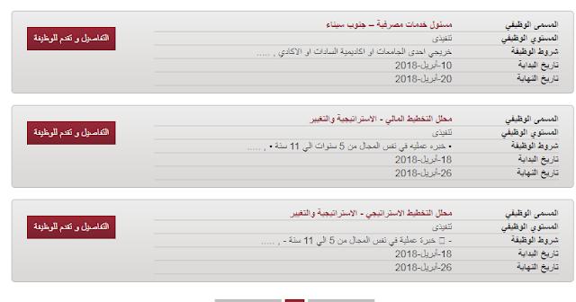 وظائف خالية ببنك مصر خلال شهر أبريل 2018 فرص عمل بالبنوك المصرية