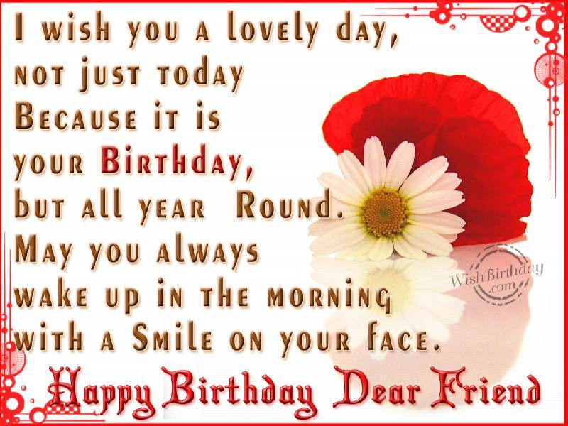 Happy Birthday My Lovely Friend Quotes The Best Love Quotes Lovely Happy Birthday Wishes Quotes