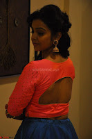 Nithya Shetty in Orange Choli at Kalamandir Foundation 7th anniversary Celebrations ~  Actress Galleries 071.JPG