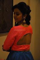 Nithya Shetty in Orange Choli at Kalamandir Foundation 7th anniversary Celebrations ~  Actress Galleries 071.JPG