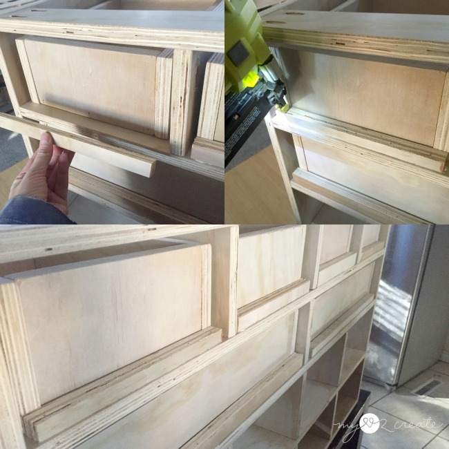 adding built in drawer stoppers