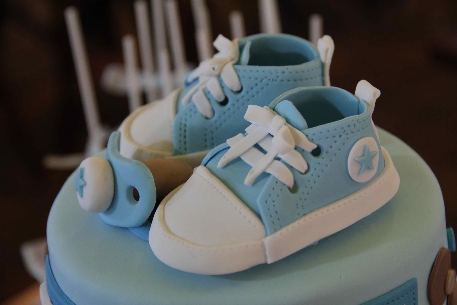Bakerz Dad: Sporty Dragon Baby Shower Cake