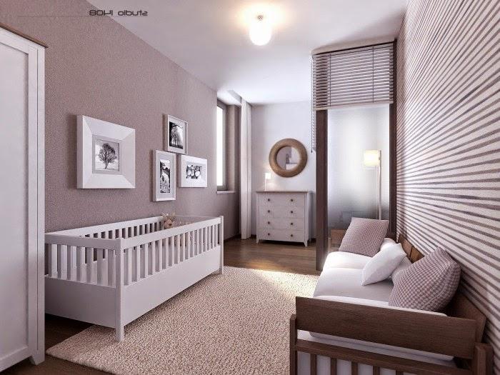 Modern Bedroom Design For Baby Girls