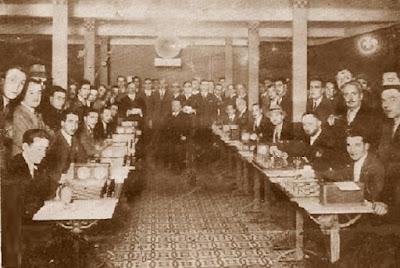 Match telefónico de ajedrez Madrid-Barcelona en 1929