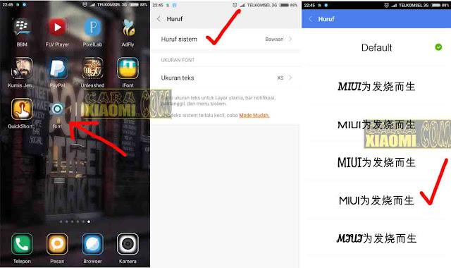 Tutorial Cara Support Simbol Logo Unicode TXT di Android Xiaomi