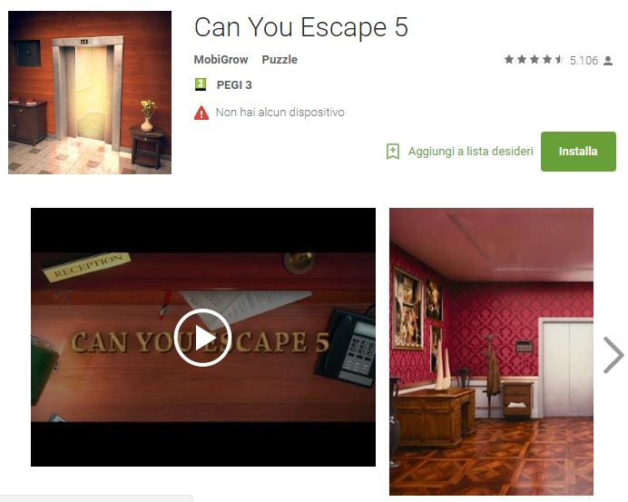 Soluzioni Can You Escape 5 di tutti i livelli | Walkthrough guide