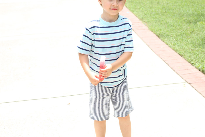 Kid Shorts - MADE Tutorial, sewn by Handmade Frenzy