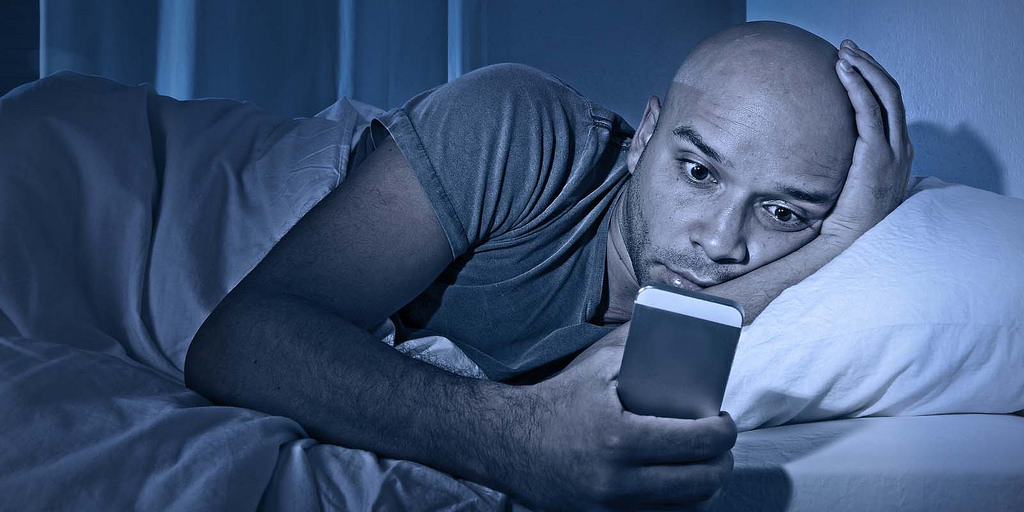 For this reason you should never sleep with your Smartphone!