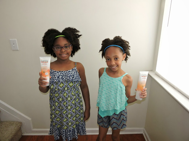 Cantu Care for Kids Hair Styling Products Review  via www.productreviewmom.com