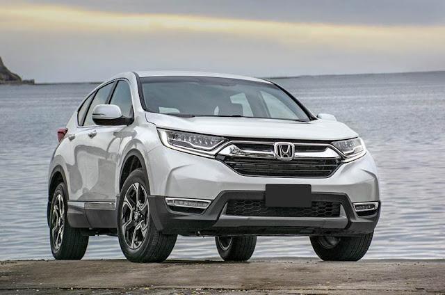 All New 2018 Honda CR-V front look