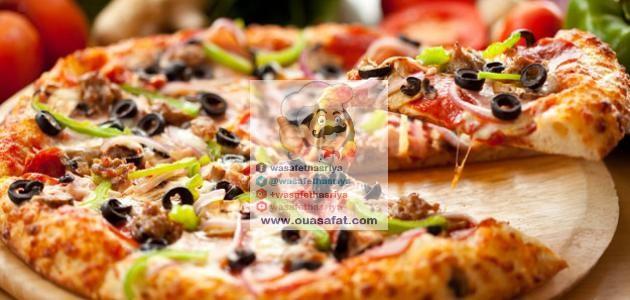 عجينة البيتزا الإيطالية