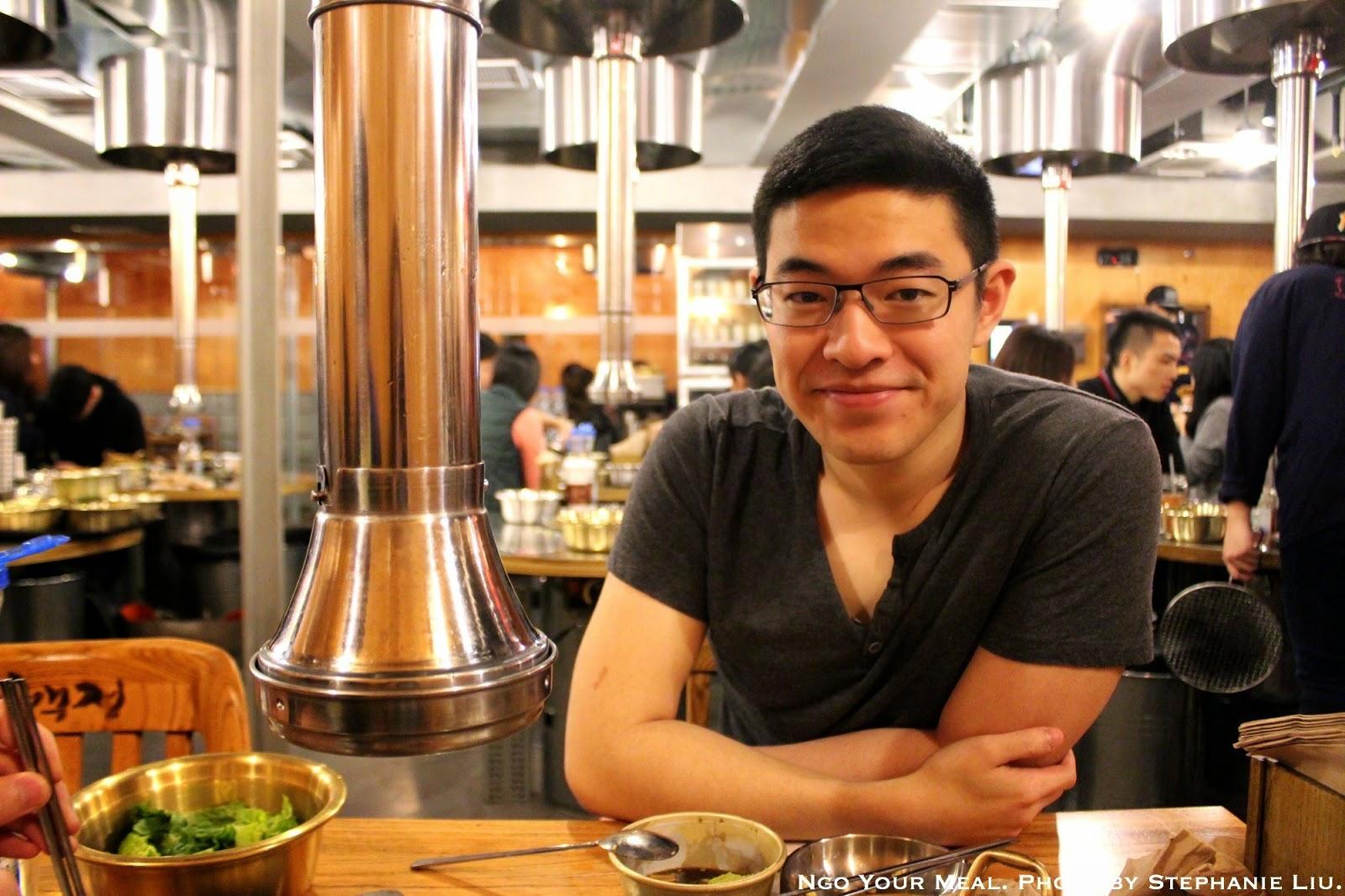 Me - Korean BBQ at Kang Ho Dong Baekjeong