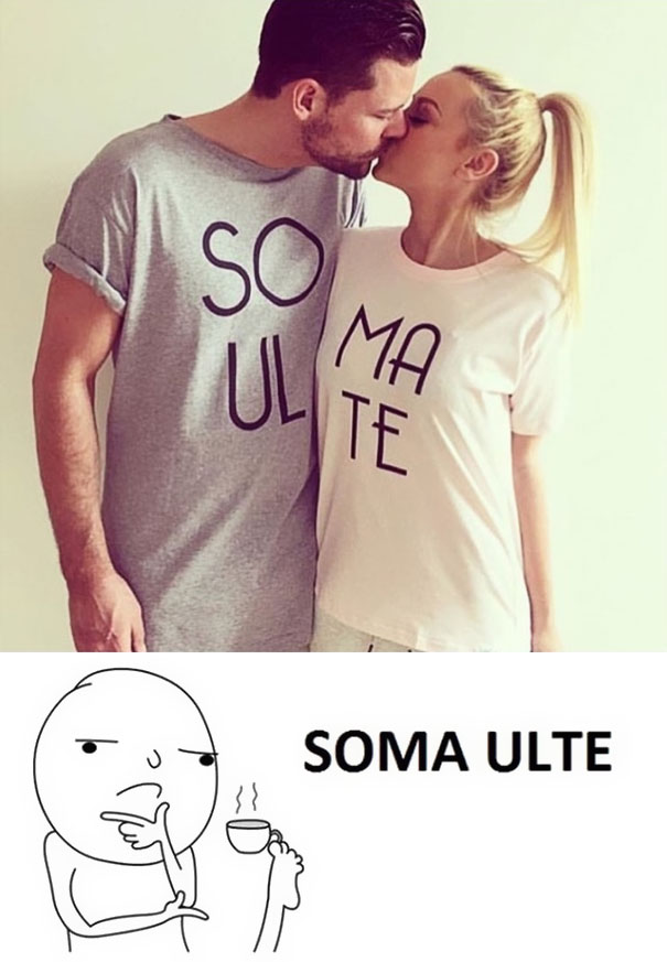 Poor Tshirt pair design