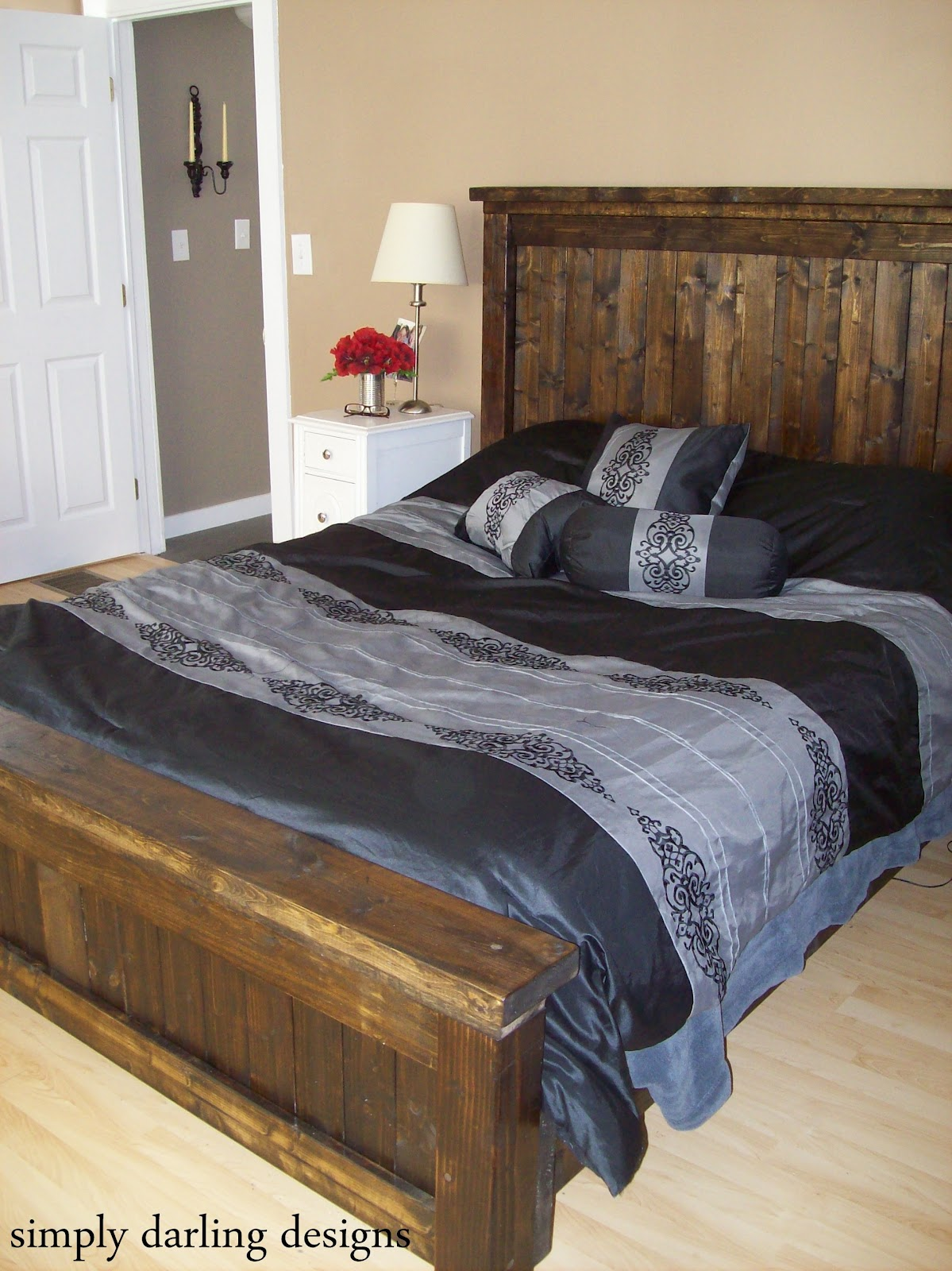 simply darling designs The Farmhouse Bed