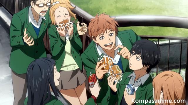 Anime shoujo romance terbaik mirip ao haru ride