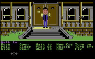 Versión Maniac Mansion Commodore 64