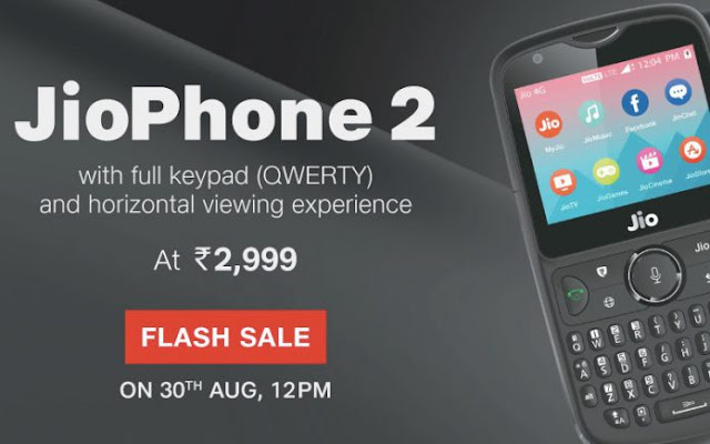 Jio Phone 2 flash sale today How to buy Jio phone 2 must read