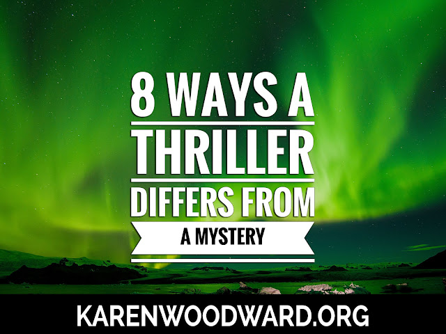 8 Ways A Thriller differs from a Mystery