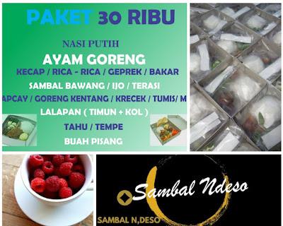 harga Paket Nasi Box Murah di Tangerang