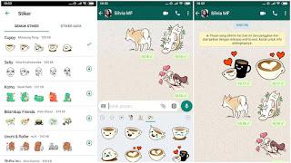 Cara Memunculkan Sticker Di Whatsapp Android Terbaru
