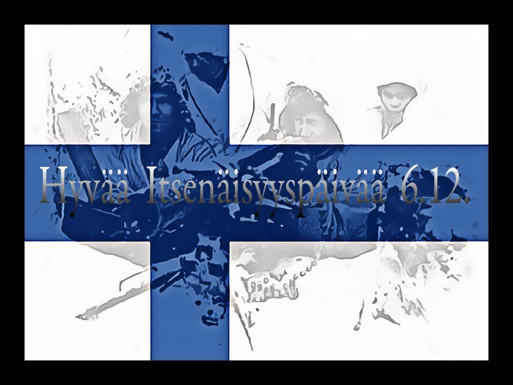 Hyvää Itsenäisyyspäivää Suomi