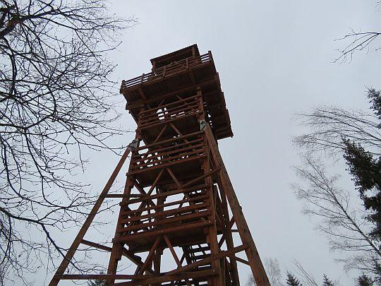 Wieża widokowa na Polczakówce (Królewska Góra).