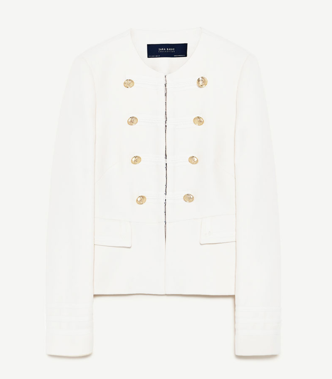 Buy Zara Military Jacket