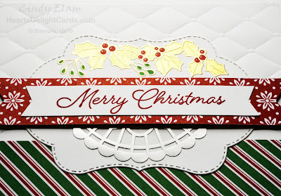 Heart's Delight Cards, Blended Seasons, Christmas Card, Stampin' Up!,
