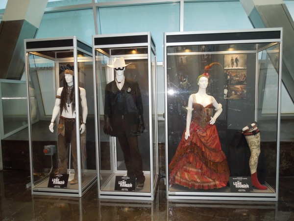 Lone Ranger movie costumes