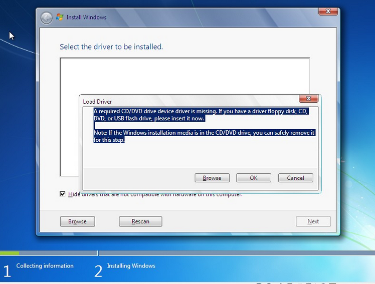 How I Fix A Required Cd/Dvd Drive Device Driver Is Missing Or Corrupt