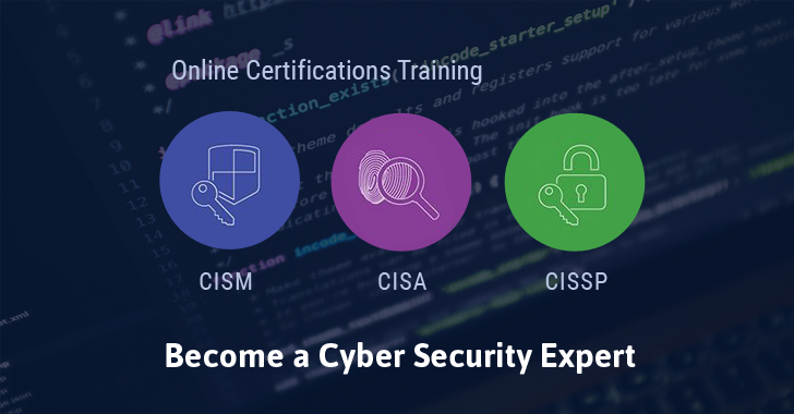 Cyber Security Training Courses – CISA, CISM, CISSP
