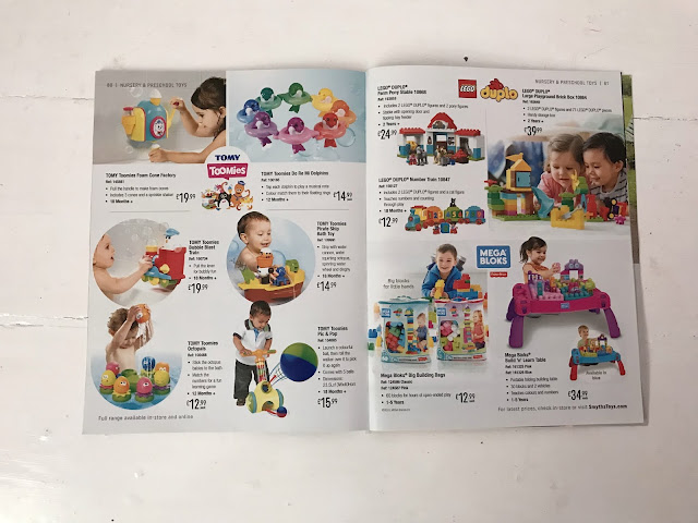 Smyths baby catalogue toy section