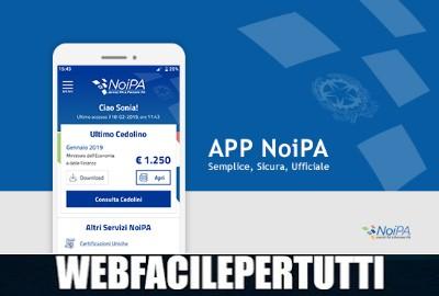 App NoiPA - Applicazione ufficiale per i dipendenti della Pubblica Amministrazione