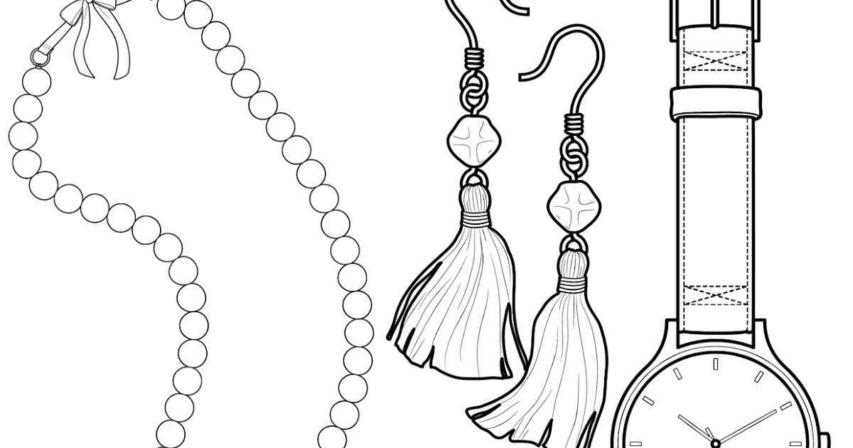 The Spinsterhood Diaries: Coloring Page Twofer: Beads and