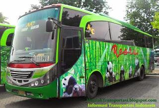 harga tiket Bus Restu jurusan Surabaya, Malang, Ponorogo, Madiun, Blitar, Jember, Banyuwangi, Probolinggo