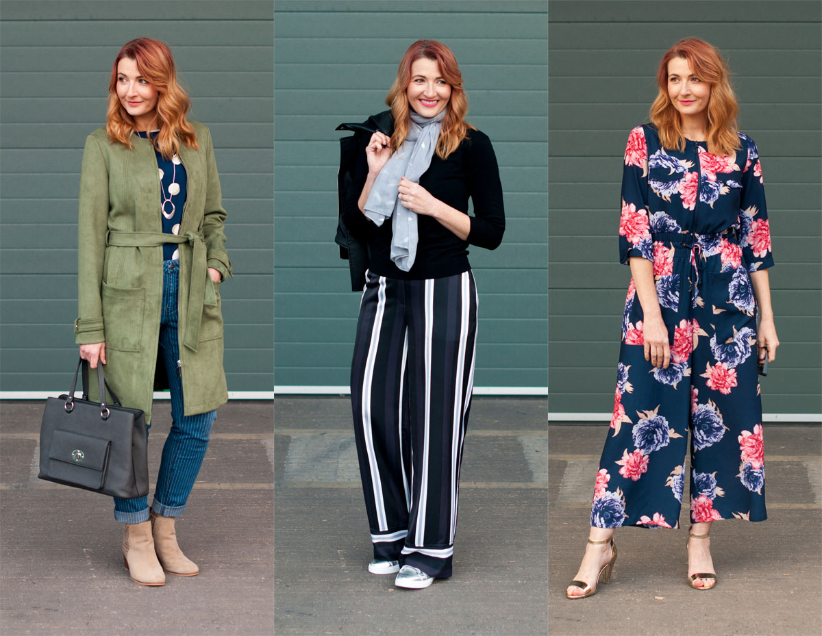 Winter to spring transitional outfits | Not Dressed As Lamb, over 40 style