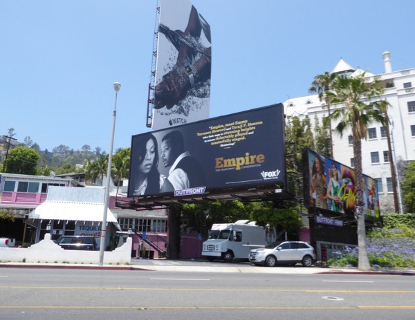 Empire 2017 Emmy FYC billboard