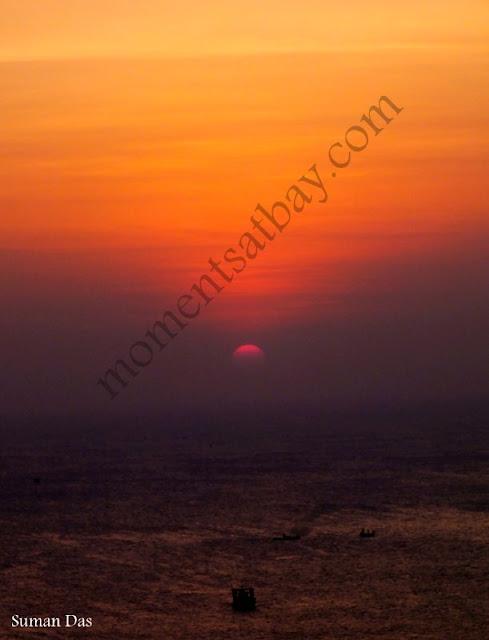 Sunrise upon the Bay of Bengal momentsatbay