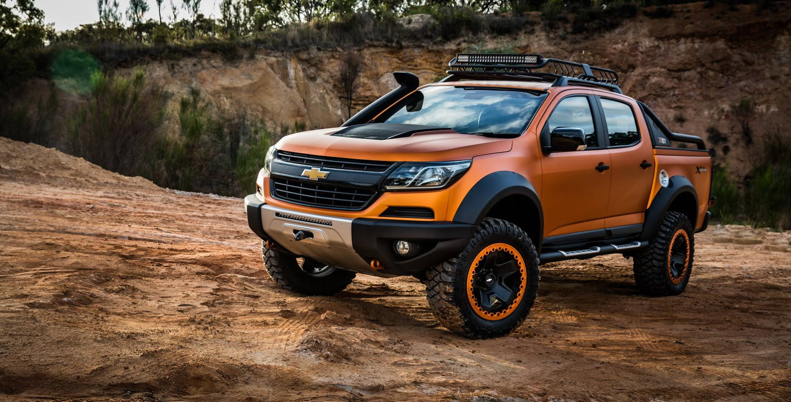 Chevrolet Colorado Xtreme Study Previews The Global Model ...