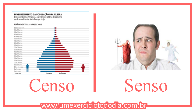 Censo ou Senso