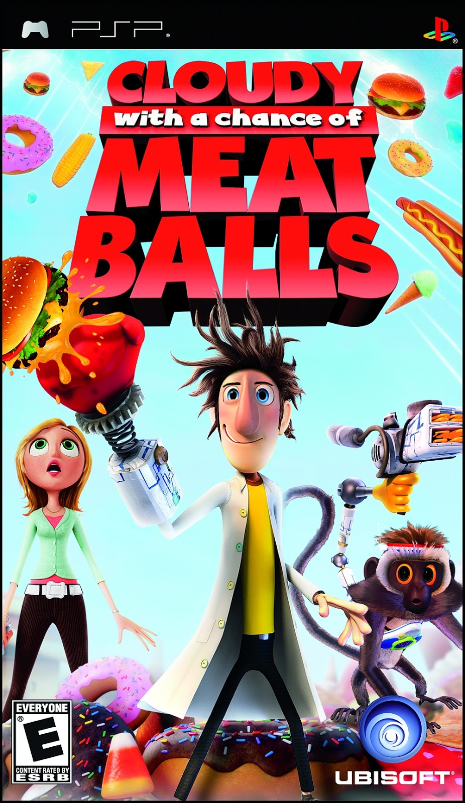 Cloudy With a Chance of Meatballs - PSP - ISO Download