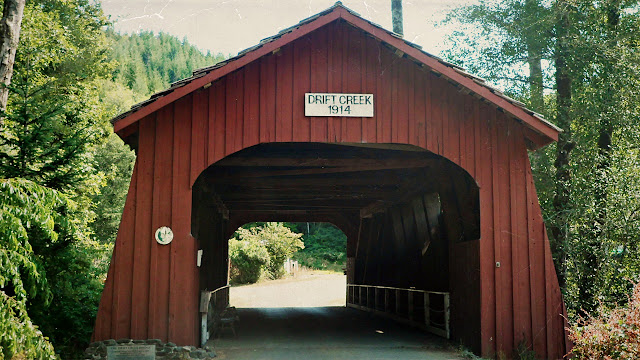 One of Oregon's covered bridges...